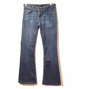 Meli Melo Bootcut Jeans Distressed + Pocket Detail